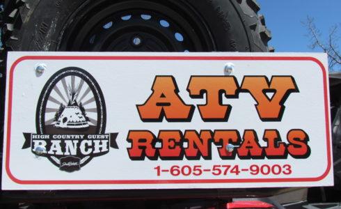 High Country Ranch ATV Rentals